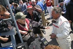 Interviews for Mario Andretti