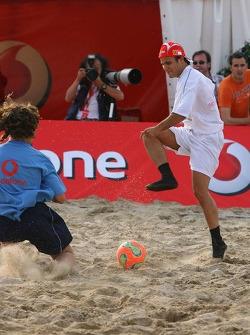 Vodafone Ferrari Beach Soccer Challenge: Felipe Massa