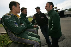 Stéphane Sarrazin, Pedro Lamy, David Brabham and Darren Turner