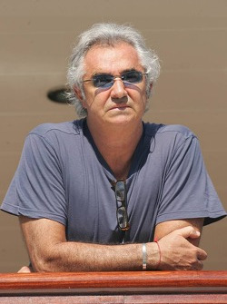 Flavio Briatore on the yacht