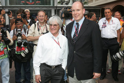 Bernie Ecclestone and Prince Albert II of Monaco
