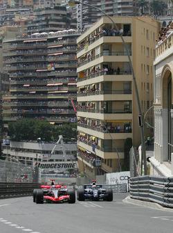 Kimi Raikkonen and Mark Webber