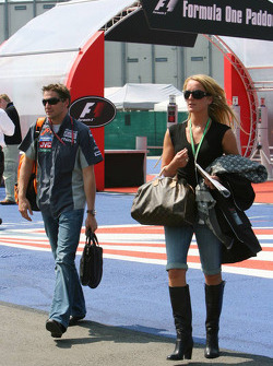 Christijan Albers and girlfriend Liselore Kooijman
