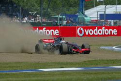 Kimi Raikkonen in trouble