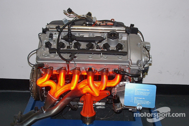 Bmw S54 Engine At Visit Of Bmw