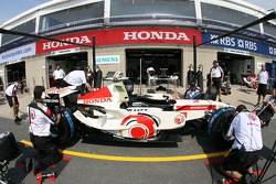 Pitstop practice at Honda