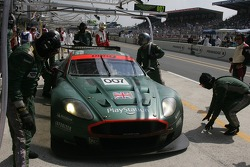 #007 Aston Martin Racing Aston Martin DBR9 in the pits
