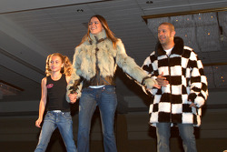 Calysta Herta with Danni and Tony Kanaan