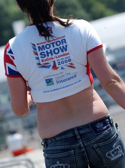 London Motorshow girl