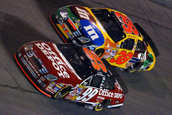 Carl Edwards and Elliott Sadler battle