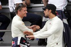 David Coulthard and Vitantonio Liuzzi