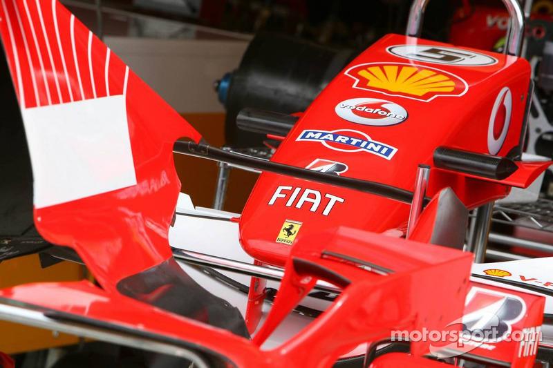 Scuderia Ferrari bodywork