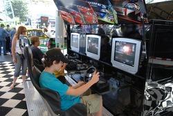 Fans enjoy video games