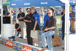 RC cars challenge: Richard Childress and Jeff Burton
