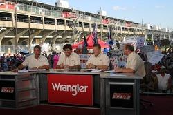 Speed TV crew reports live