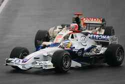 Nick Heidfeld and Rubens Barrichello
