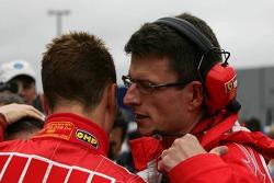 Chris Dyer and Michael Schumacher
