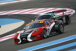#71 RSV Motorsport Ferrari 430 GT2: Michel Ligonnet, Roland Severin