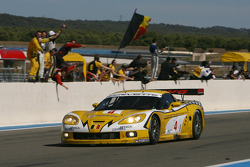 Race winner #4 GLPK-Carsport Corvette C6R: Bert Longin, Anthony Kumpen, Mike Hezemans