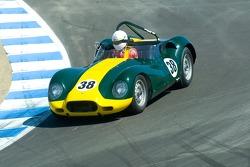 #38, 1957 Lister-Jaguar, D. Randy Riggs