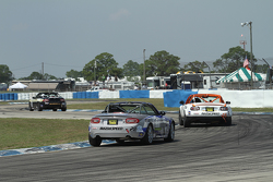 Practice action at Sebring Raceway