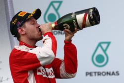 Racewinnaar Sebastian Vettel, Ferrari