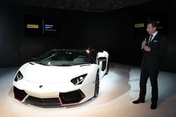 NYC Lamborghini and Pirelli event