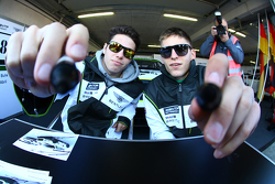 Maximilian Buhk, Vincent Abril in the autograph session