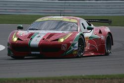 #83 AF Corse Ferrari 458 Italia: François Perrodo, Emmanuel Collard, Rui Aguas