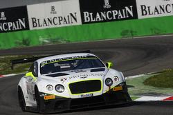 #84 Bentley Team HTP Bentley Continental GT3: Mike Parisy, Harold Primat, Vincent Abril