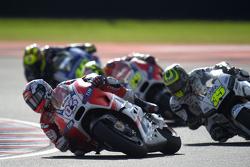 Andrea Dovizioso, Ducati Team and Cal Crutchlow, Team LCR Honda