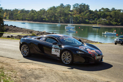 Tony Quinn and Naomi Tillett, McLaren 650S