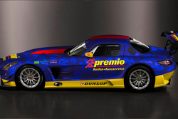 Team Premio Mercedes-Benz SLS AMG GT3