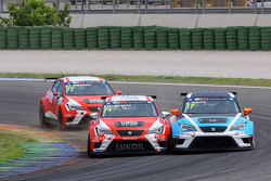 Pepe Oriola, SEAT Leon Racer, Team Craft-Bamboo LUKOIL and Michael Nykjaer, SEAT Leon Racer, Target Competition