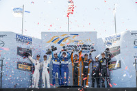Race winners GTLM, #24 BMW Team RLL BMW Z4 GTE: John Edwards, Lucas Luhr, P, #90 VisitFlorida.com Racing Corvette DP: Richard Westbrook, Michael Valiante, PC, #11 RSR Racing Oreca FLM09 Chevrolet: Chris Cumming, Bruno Junqueira and GTD,#73 Park Place Moto