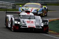 #7 Audi Sport Team Joest Audi R18 e-tron quattro Hybrid: Marcel Fässler, André Lotterer, Benoît Tréluyer