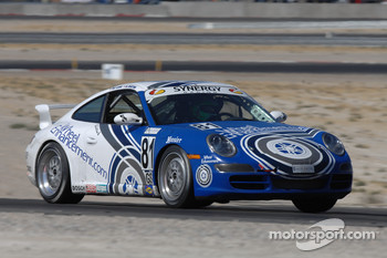 #81 Wheel Enhancement/ Synergy Racing Porsche 997: Brent Martini, Patrick Long