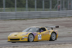 #21 Riverside Corvette Z06 GT3: Philippe Charriol, Christopher Campbell