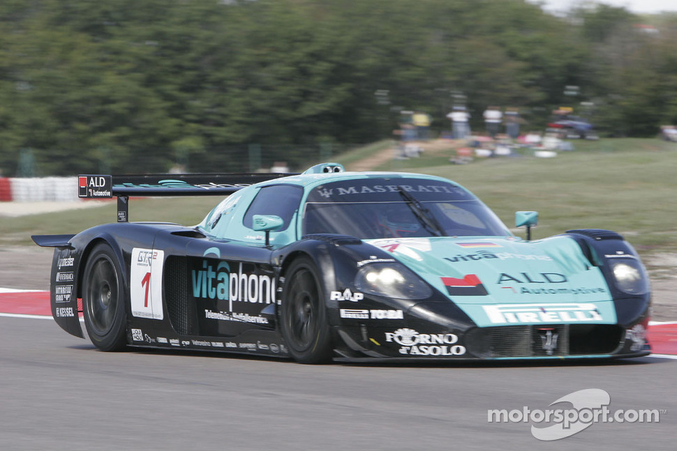 #1 Vitaphone Racing Team Maserati MC12: Michael Bartels, Andrea Bertolini