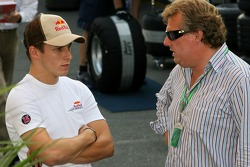 Christian Klien with his father Johannes Klien