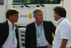 Pasquale Lattuneddu, FOM, Mauro Sipz, Founder of new series Formula N. T07, Marcello Lotti, General Manager of KSO