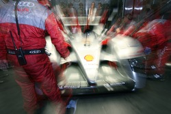 Audi Sport Team Joest garage activity
