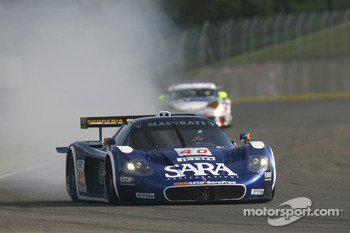 #40 Playteam Maserati MC 12 GT1: Giambattista Giannoccaro, Toni Vilander, Alessandro Pierguidi