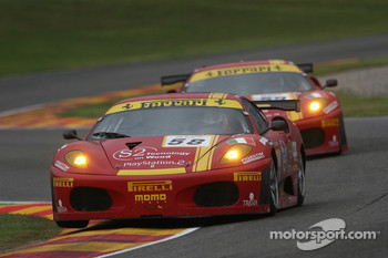 #58 AF Corse Ferrari 430 GT2: Matteo Bobbi, Jaime Melo