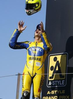 Podium: Valentino Rossi