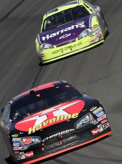 Casey Mears leads Robby Gordon