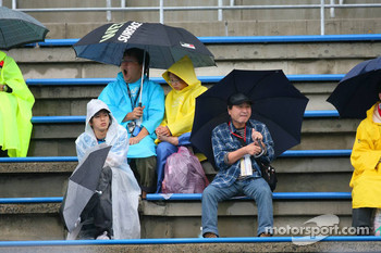 Fans at the circuit