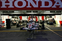 Honda garage area