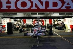 Honda garage area