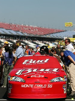 The Bud Chevy at qualifying